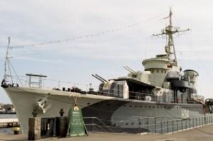 Blyskawica - now a museum ship